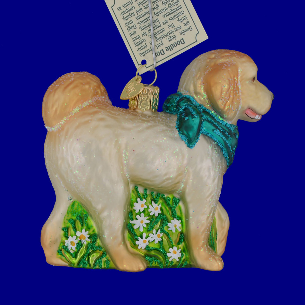 Chilly Dog Doodle Dog Ornament