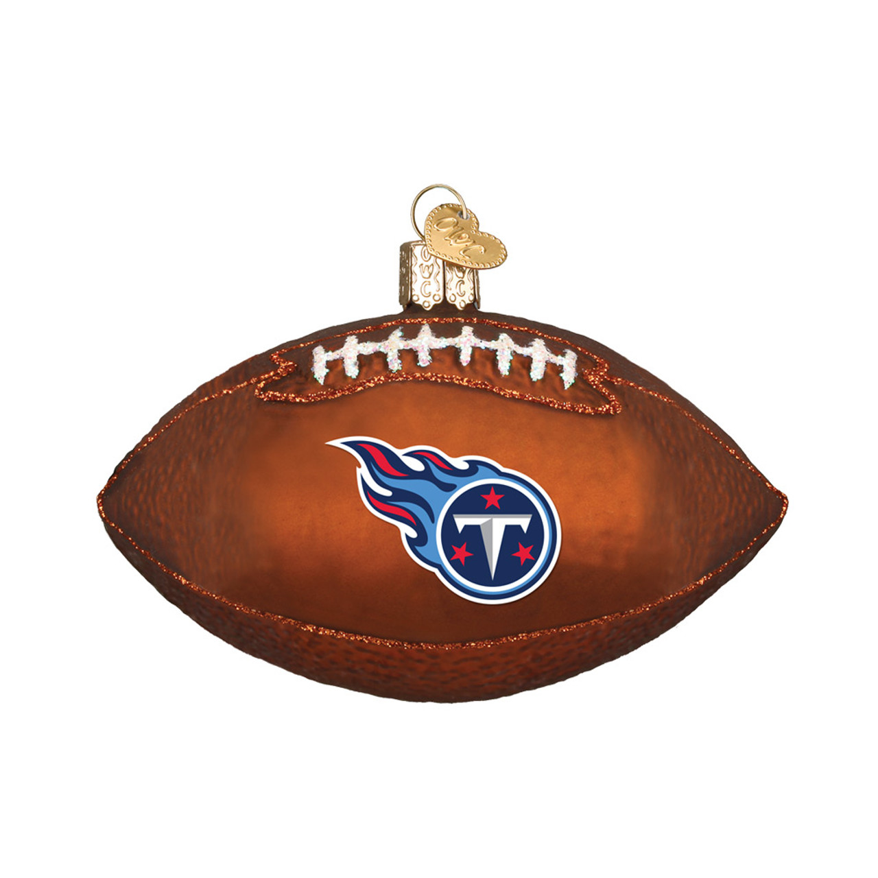 Tennessee Titans NFL Football Old World Christmas Glass Ornament b2241a8a7