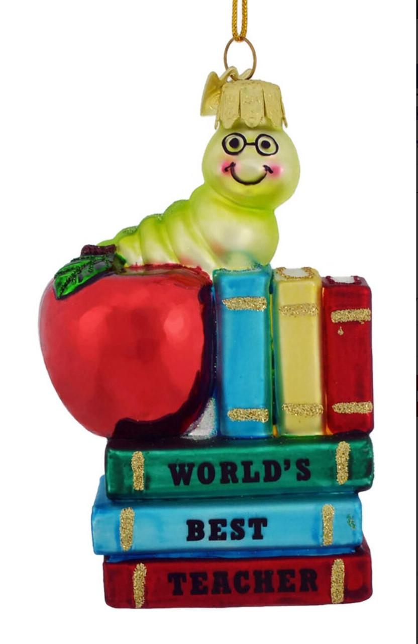 """KSA /""""TEACHER/""""  Ornament ~ Free Personalization ~ Cute!"""
