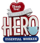 Covid 19 - Heros - Essential Workers Ornaments