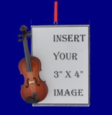 Music Theme Picture Frame Ornaments