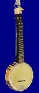 Banjo, Mandolin, Fiddle, Dulcimer Ornaments