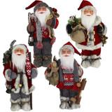Santa Dolls, Figurines, Shelf Decor