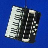 Accordion, Harmonica, Bagpipes Ornaments