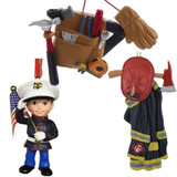 Fire, Police, Military, Occupations