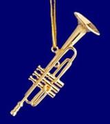Trumpet, Cornet Ornaments