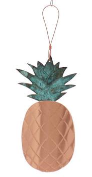 Pineapple Copper Ornament Front Full String