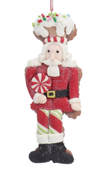 Winter Holiday Cut Out Nutcracker Cookie Ornament