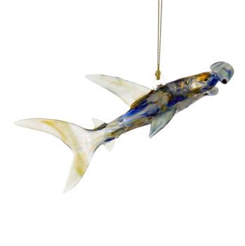 Hammerhead Shark Egyptian Glass Ornament