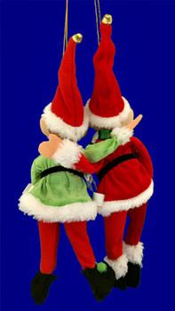 "Pixie with Scarf Elf  Doll Ornament, Shelf Sitter, 9 - 11 1/2"", RGMTX49139"