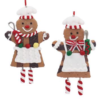 Dangle Legs Baker Cookie Ornament