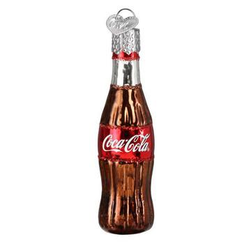 Mini Coca-Cola Soda Bottles Beverage Glass Ornaments Set coke