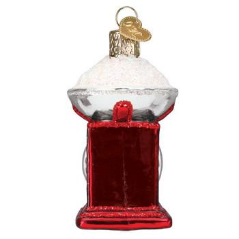 Kitchen Scale Glass Ornament boy