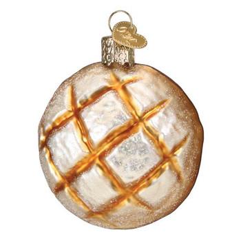 Sourdough Bread Glass Ornament