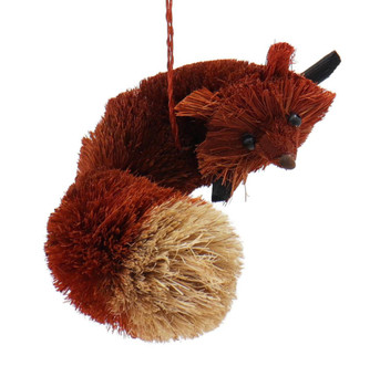 Fun Woodland Buri Animals Red Fox Ornament