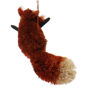 Fun Woodland Buri Animals Red Fox Ornament Fox Back