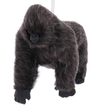 "Furry Gorilla Ornament, 3 1/2 x 4 1/2"", KAC4864"