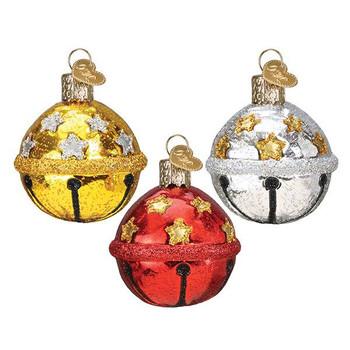 Jingle Bell Glass Ornament