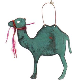 Camel Copper Ornament