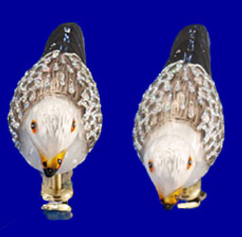 Seagull Clip On Old World Christmas Glass Ornament 18037 inset