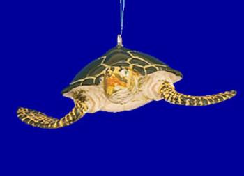 Green Sea Turtle Ornament inset