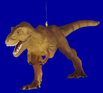 Large T Rex Dinosaur Ornament break resistant inset