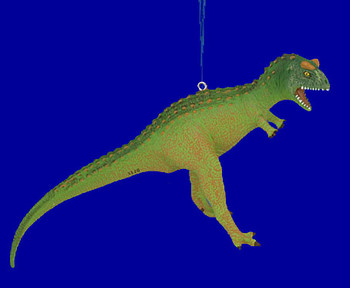 Carnotaurus Dinosaur Ornament Break Resistant