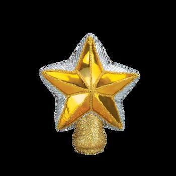 Small Star Glass Tree Topper