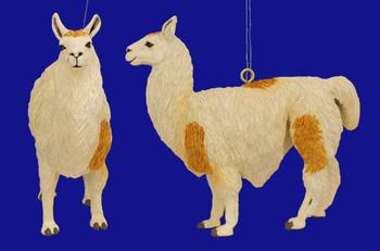Llama Ornament inset