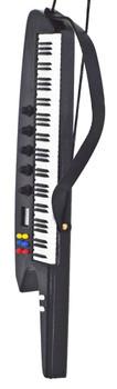 Mini Synthesizer Ornament w/Shoulder Strap left side front