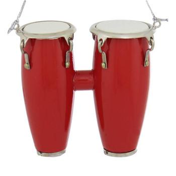 Mini Conga Drum Ornament - Double Conga