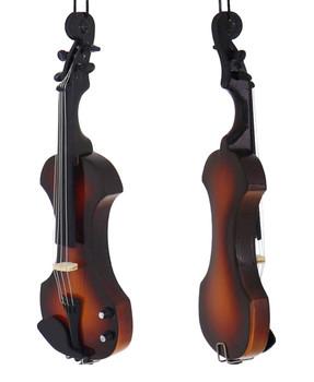 Mini Electric Violin Ornament side front