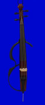 Electric Cello Ornament 6.5