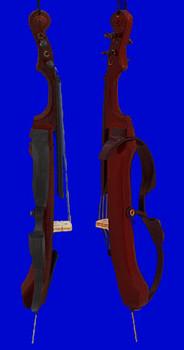 Electric Cello Ornament 6.5 inset