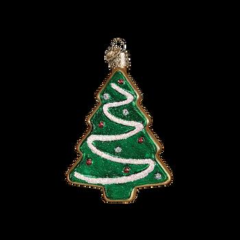 Tree Sugar Cookie Glass Ornament