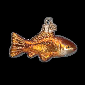 Goldfish Glass Ornament