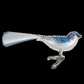 Swallow Clip On Bird Glass Ornament