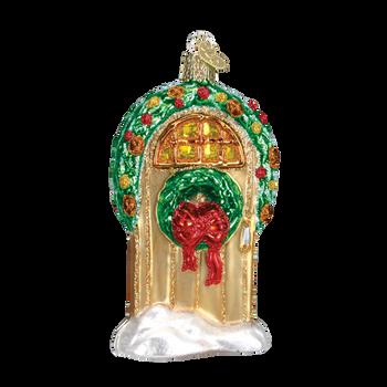 Welcome Home Door Glass Ornament