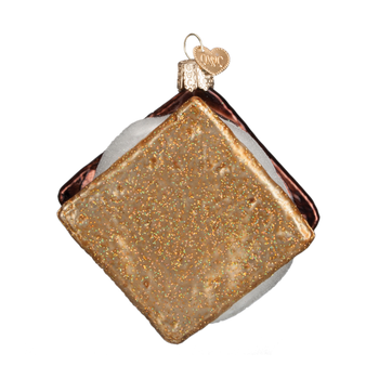 S'more Cookie Glass Ornament