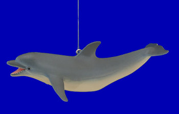 "Dolphin Ornament, 5"", break resistant #SL6875"