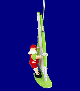 wind surfing ornament inset