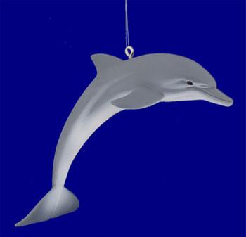 "Diving Dolphin Ornament, 4 3/4"", break resistant #SL7590"