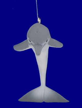 diving dolphin ornament inset