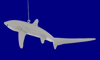 """Thresher Shark Ornament, 6 5/8"""", break resistant #SL7591"""