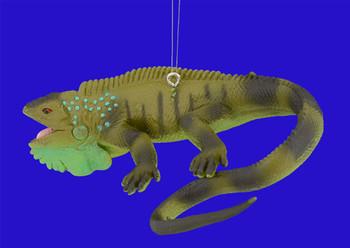 iguana ornament inset