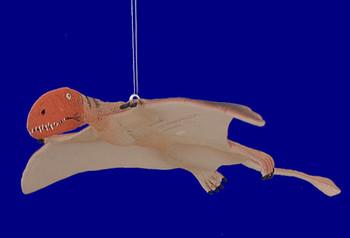 "Flying Dimorphodan Dinosaur Era Ornament, 9"" wingspan, break resistant #SL7606"