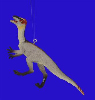 "Dilong Dinosaur Ornament, 2 3/8 x 5 1/4"", break resistant #SL7612"