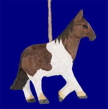 wood horse ornaments inset 1
