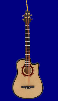 acoustic 4 string bass guitar ornament inset