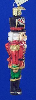 Nutcracker General Old World Christmas Glass Ornament 44043 inset